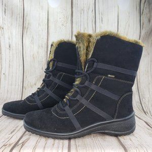 Ara Magaly Gore-Tex Fur Lined Suede Boot